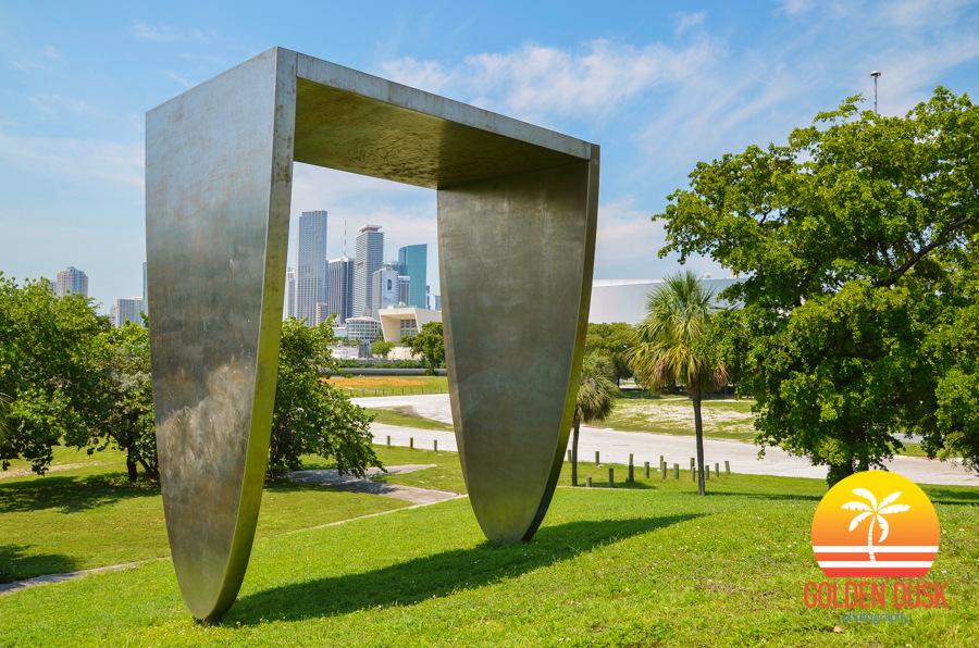 Downtown Miami From Bicentennial Park