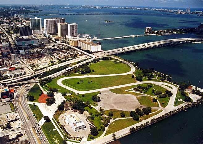 Bicentennial Park Miami Early 2000's