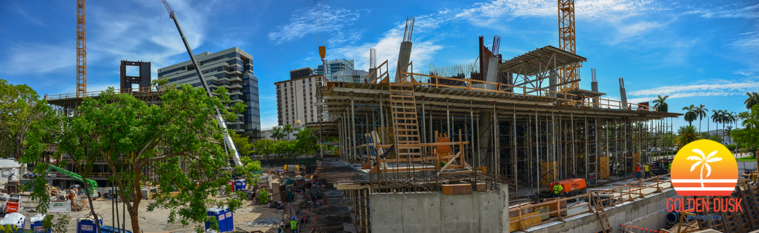 Grove at Grand Bay Construction Site