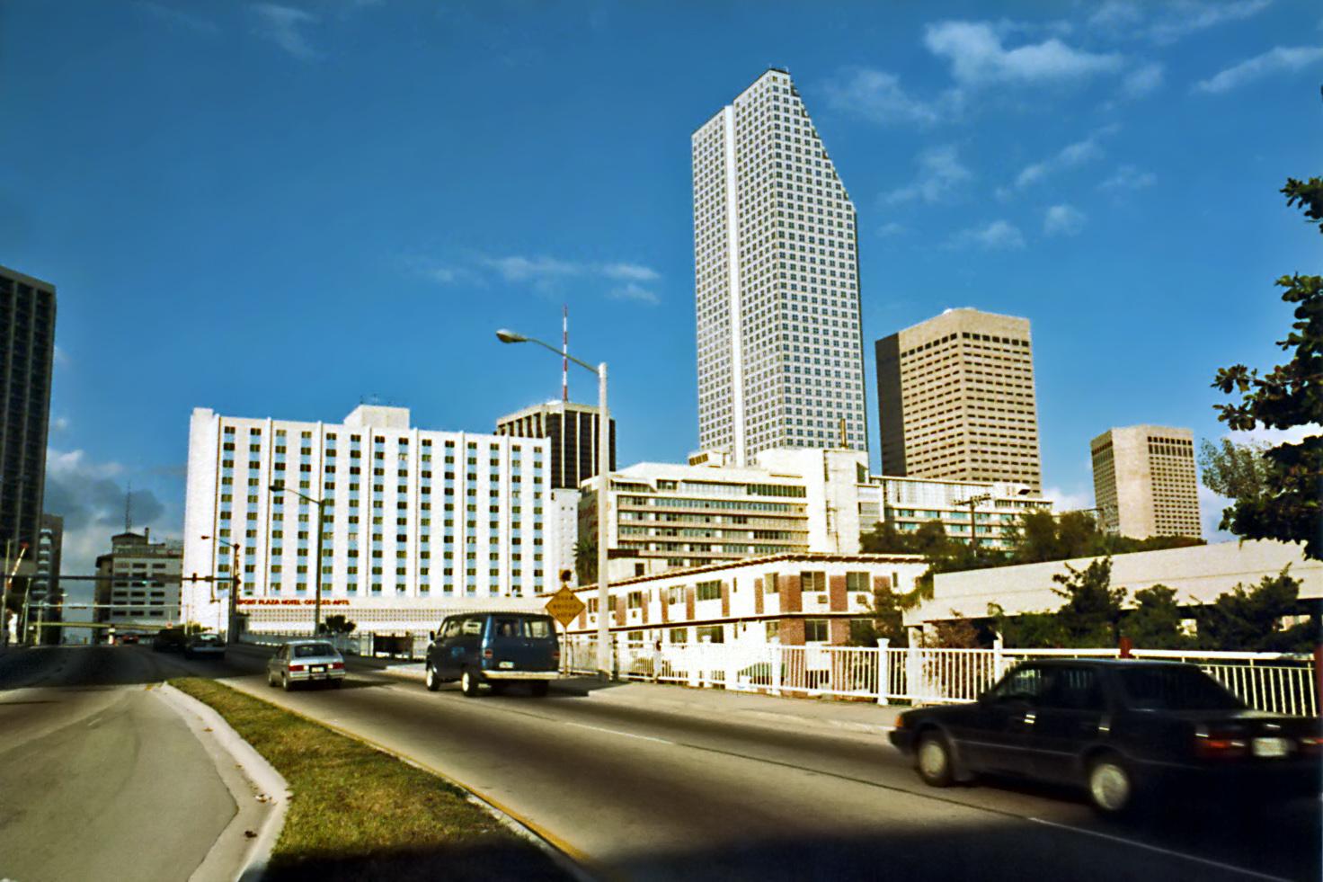 Downtown Miami Circa 1984 Photo Credit: Steven Martin