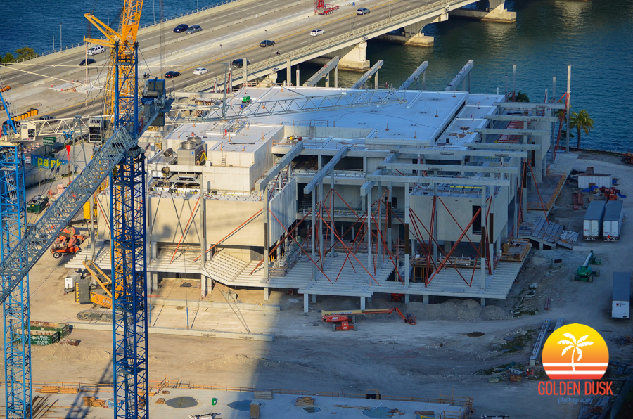 Perez Art Museum of Miami Under Construction