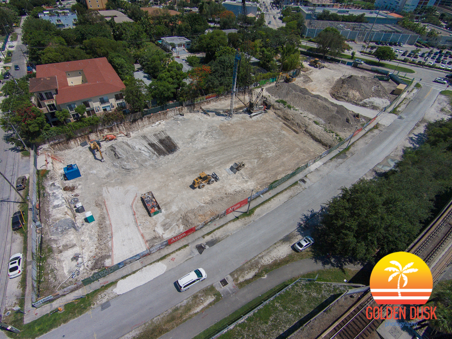 Le Parc at Brickell and Atton Hotels Construction Site