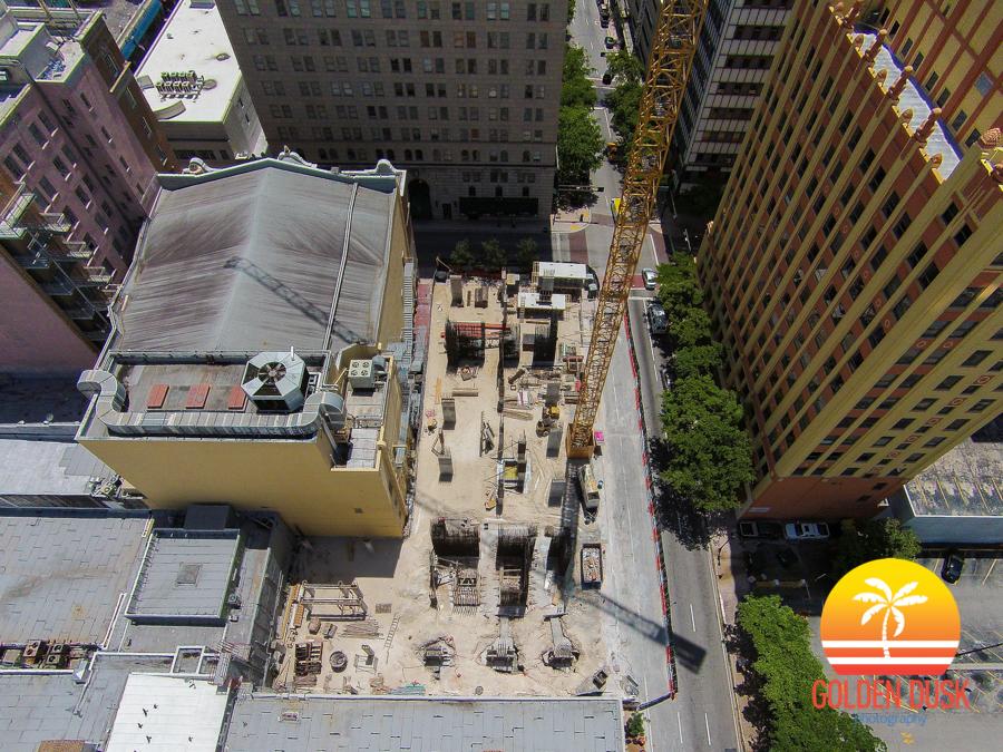 Centro Lofts Miami Construction Site