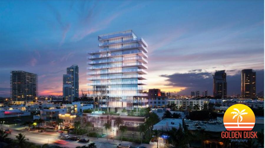 Glass Miami Beach Rendering