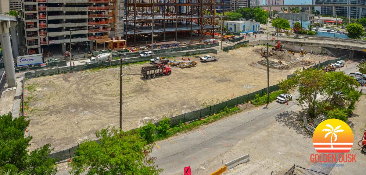 North Squared Condo Site of Brickell City Centre