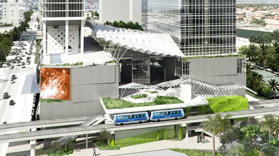 Rendering of the Completed 8th St. Station
