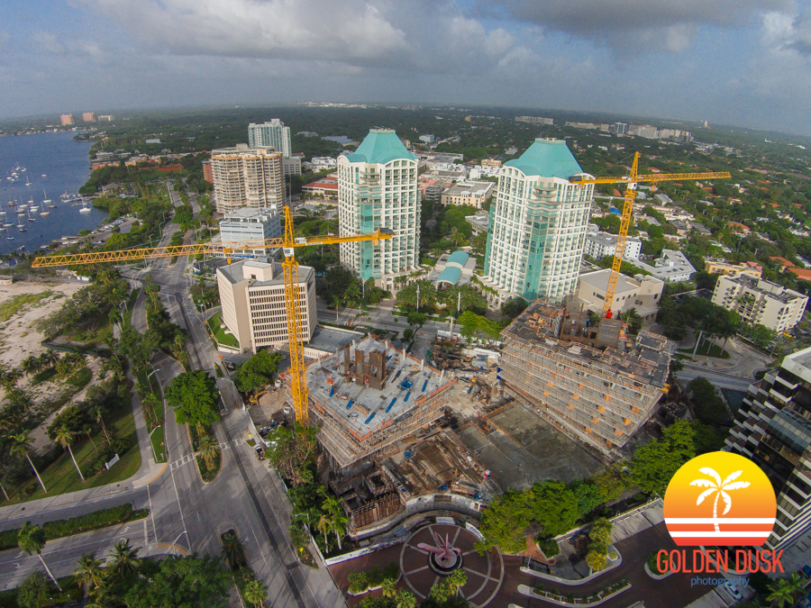 Construction On Grove at Grand Bay In Coconut Grove