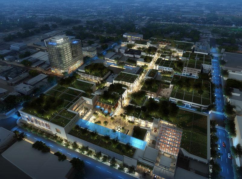Design District Expansion Rendering