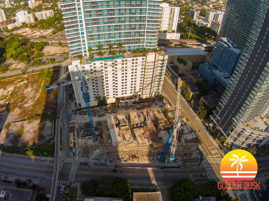 SLS Construction Site