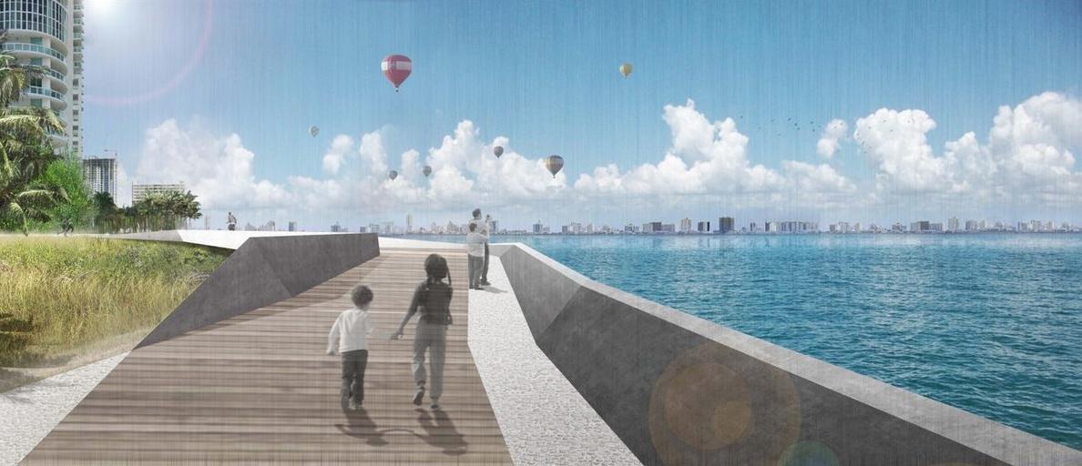 Miami Biscayne Line Bay Walk