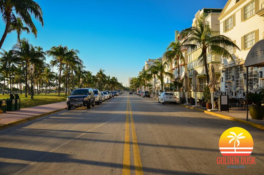 Ocean Drive On South Beach