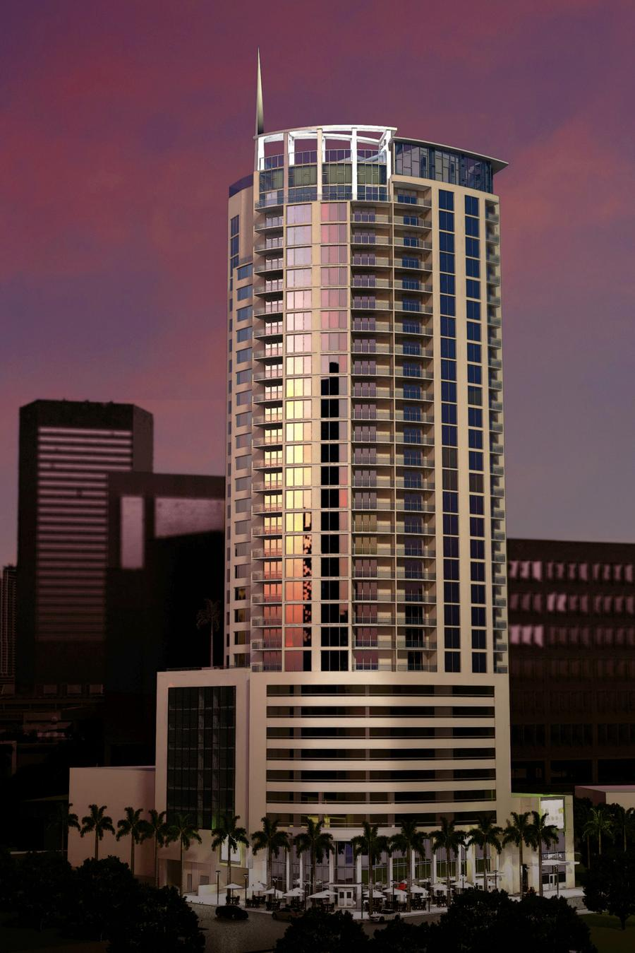 Krystal Tower Rendering