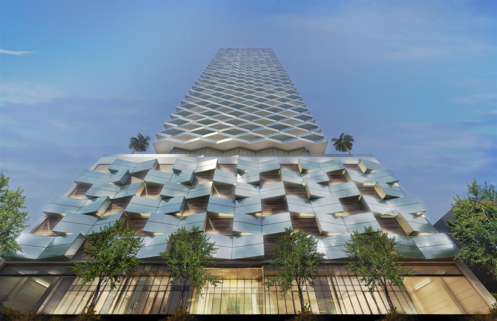 Brickell Bayview Center Rendering