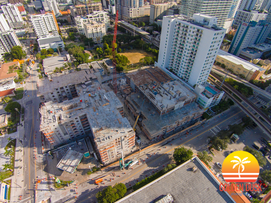 SoMa at Brickell Construction Site