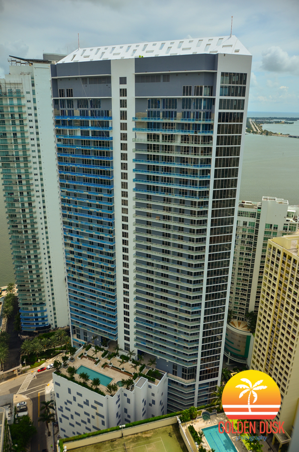 Brickell House Overlooking Biscayne Bay