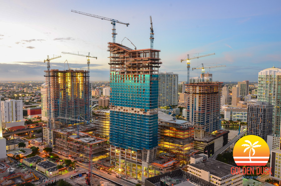 Brickell City Centre Under Construction