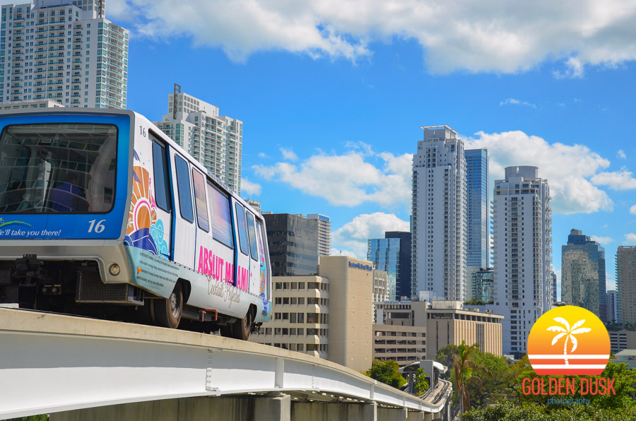 Metromover In Brickell