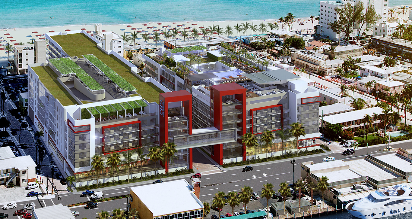 Costa Hollywood Beach Resort Rendering