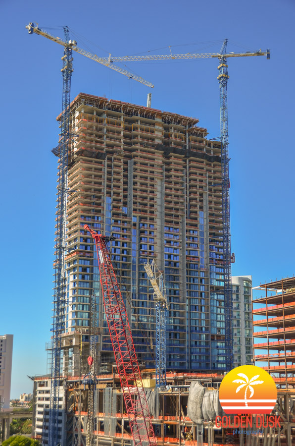 Rise Brickell City Centre Topped Off