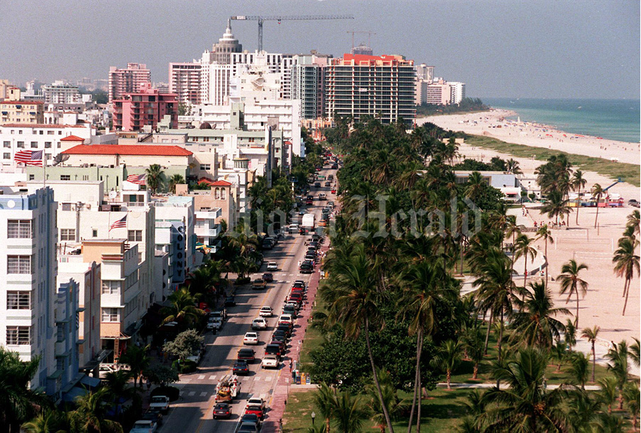 South Beach in 1995 Photo Credit: Peter Andre Bosch/Miami Herald