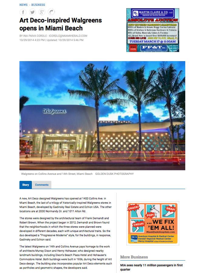Golden Dusk Photography - Miami Herald
