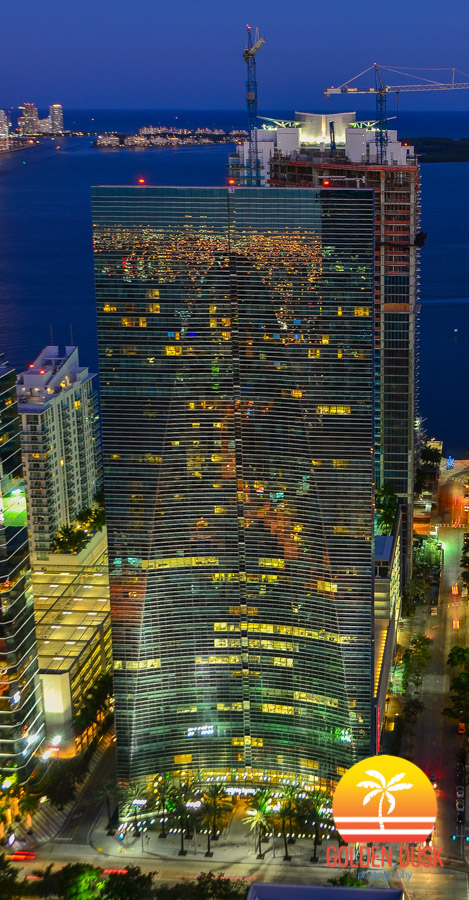 Conrad Miami Hotel on Brickell Ave.