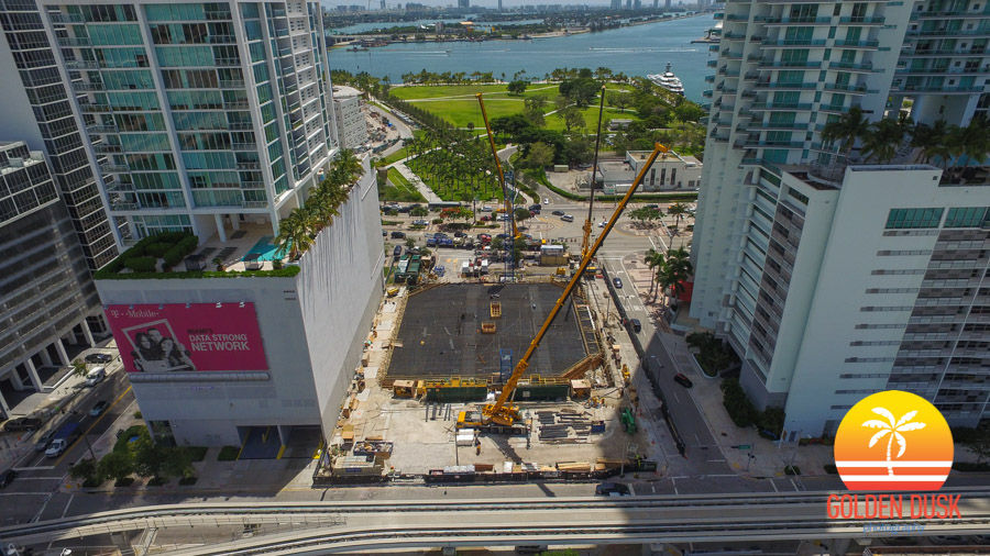 1000 Museum Towards Biscayne Bay