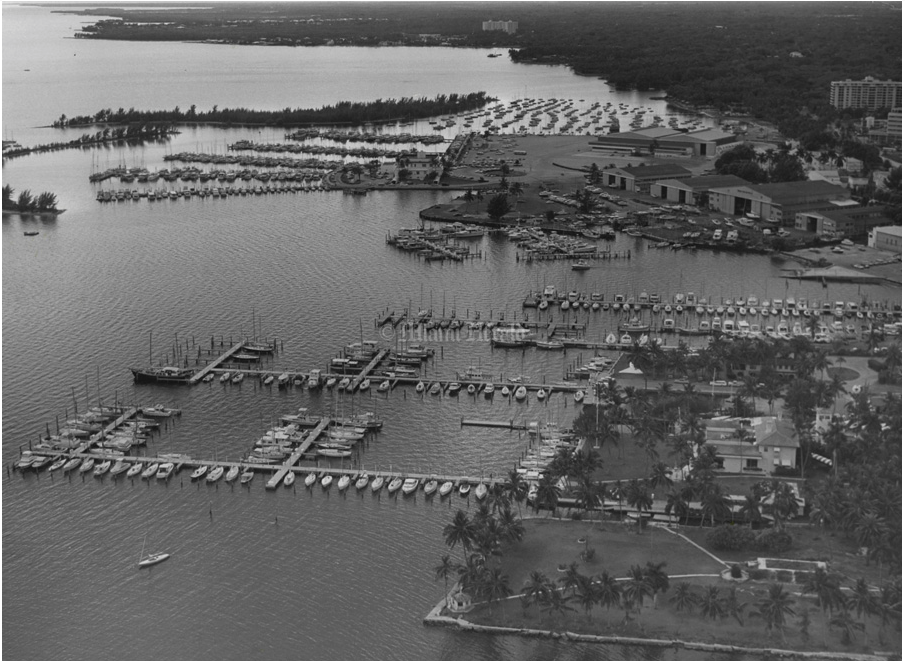 Coconut Grove in 1971