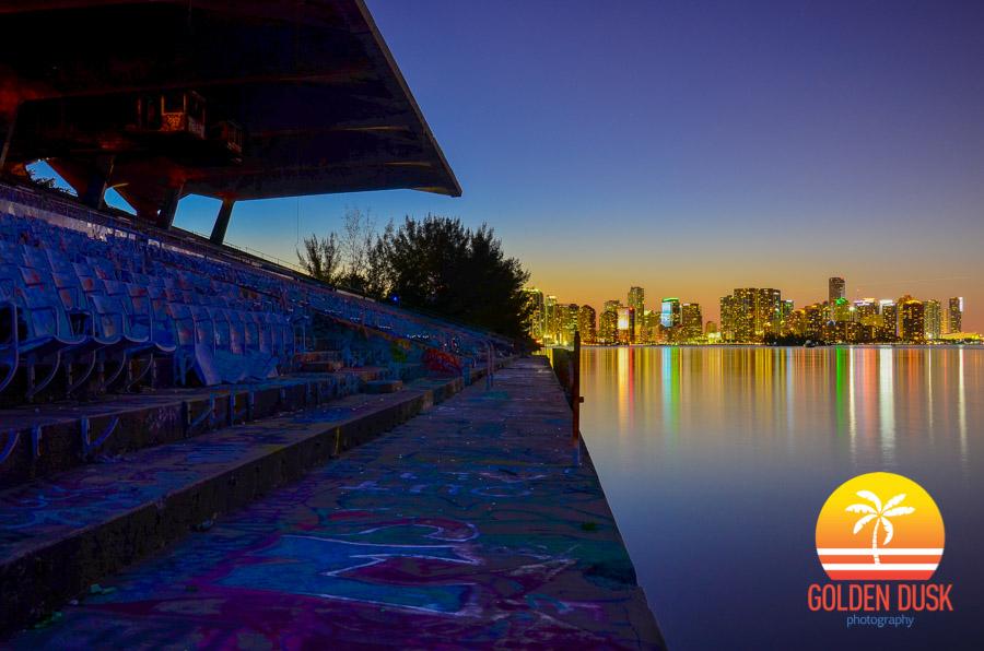 Miami Marine Stadium Dusk 3