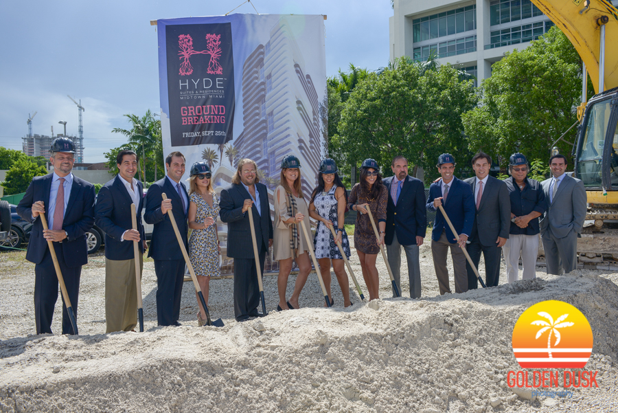 Hyde Midtown Suites & Residences Groundbreaking