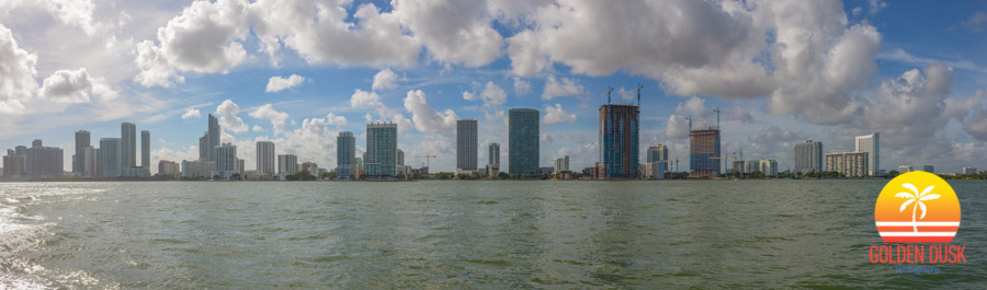 The Edgewater district of Miami