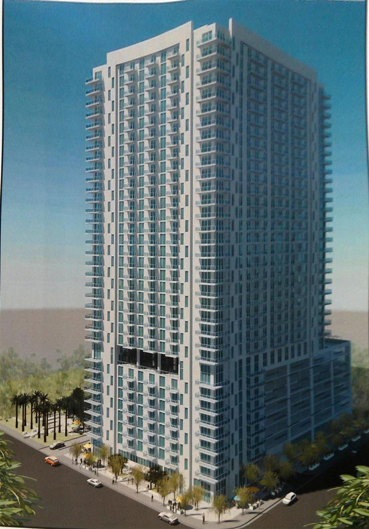 Riverside Tower Rendering