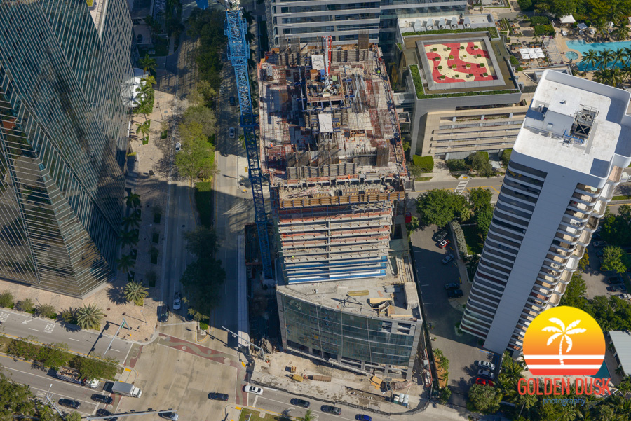 Construction on Echo Brickell