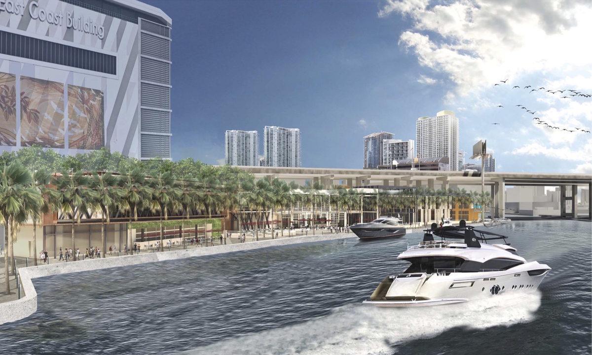Riverside Wharf Rendering