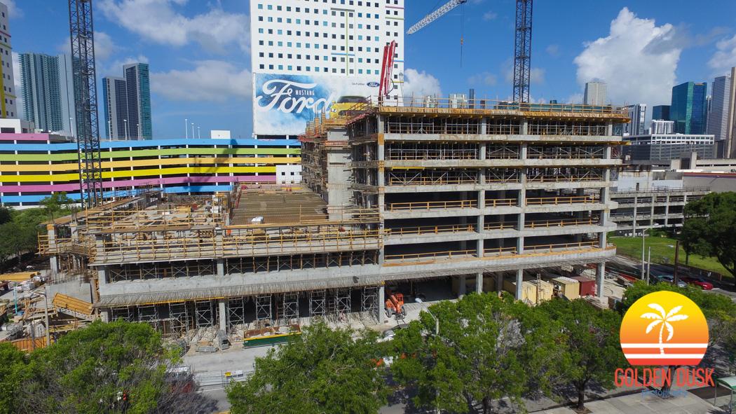 3 Miami Central Reaches 8th Floor