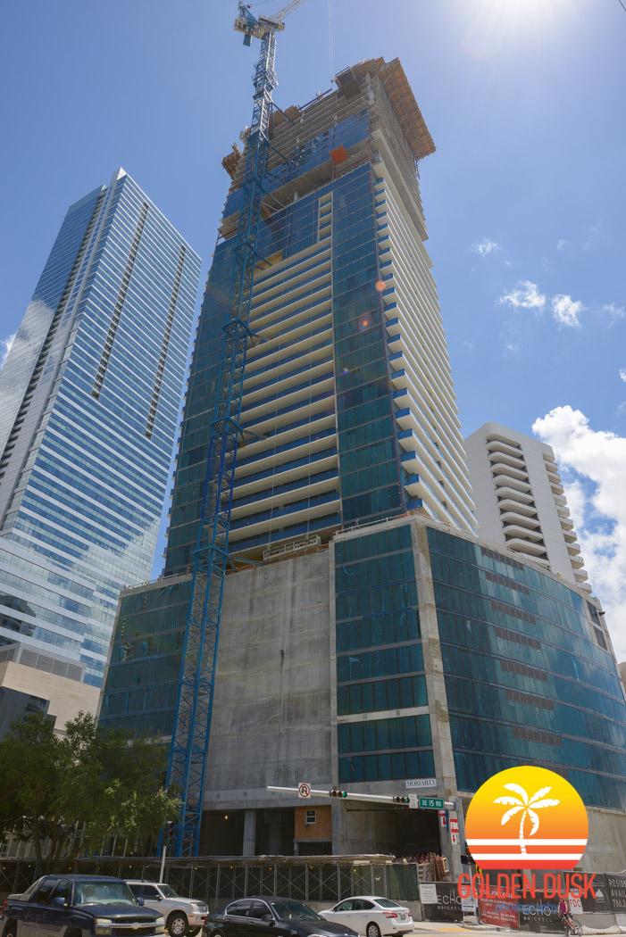 Echo Brickell Under Construction