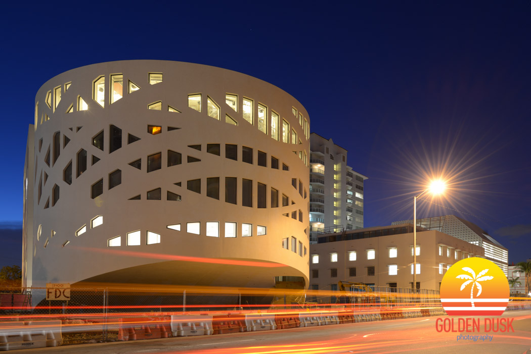 Faena Forum at Night