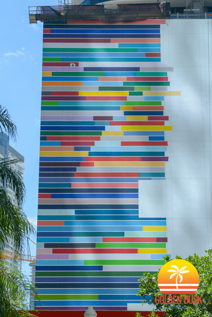 Brickell Heights Mural by Fabián Burgos