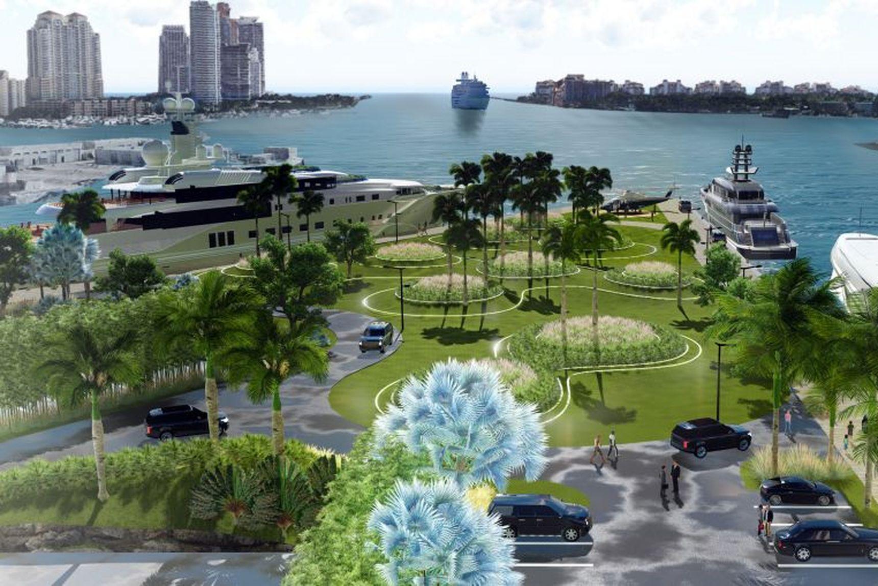 One Island Park Rendering