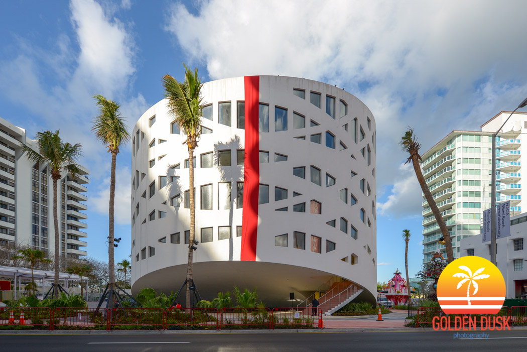Faena Forum Along Collins Avenue