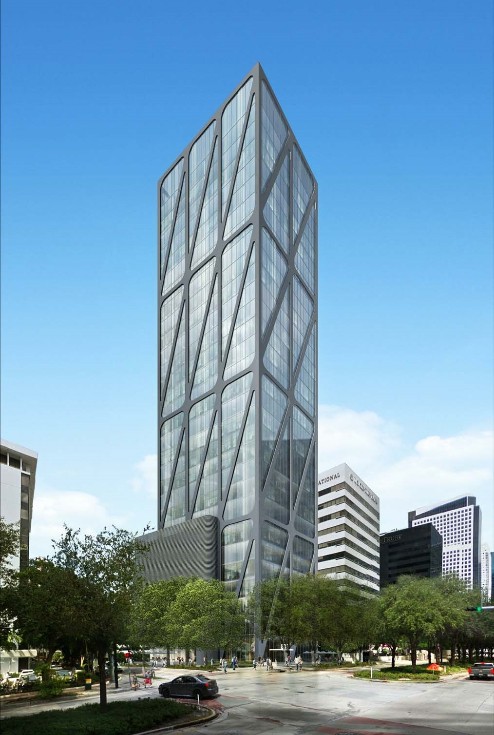 888 Brickell Ave Rendering
