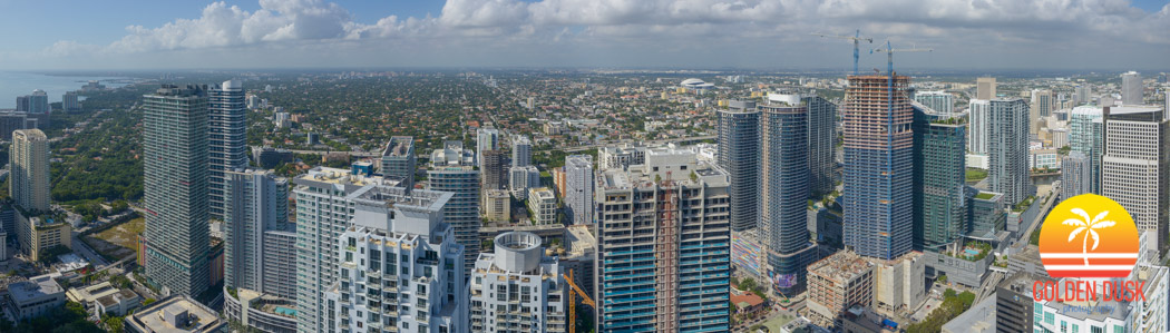 View From the 67th Floor of Panorama Tower