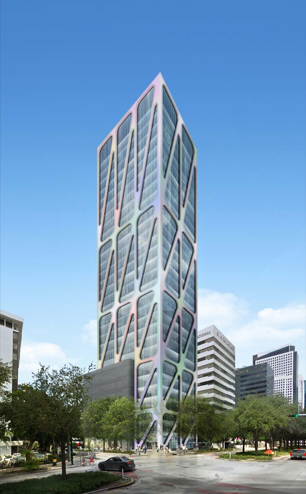 888 Brickell Avenue Rendering