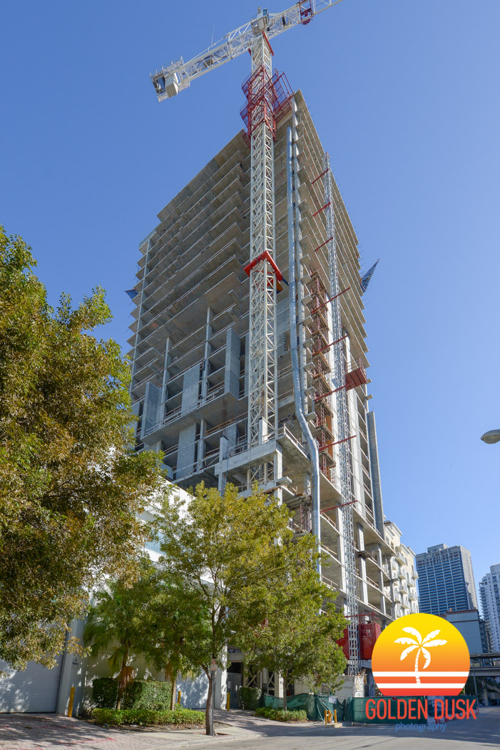 Indigo Hotel Brickell Topped Out