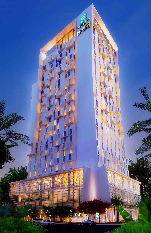 Embassy Suites & Home 2 Rendering