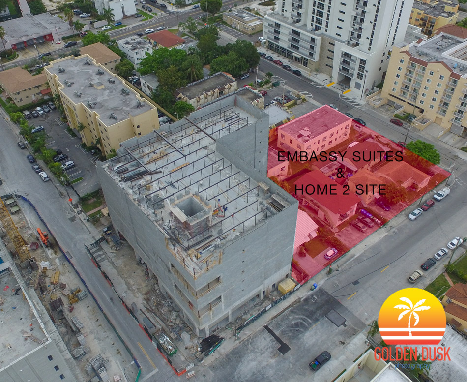 Embassy Suites & Home 2 Site