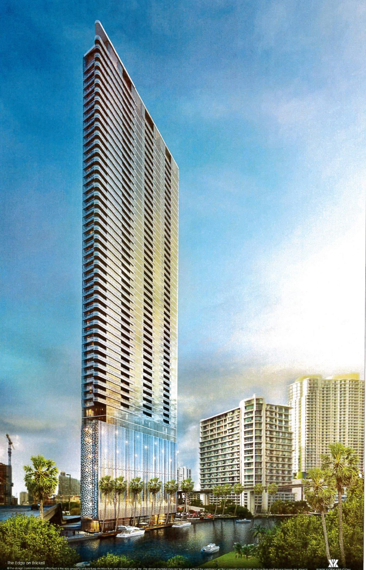 Edge on Brickell Rendering