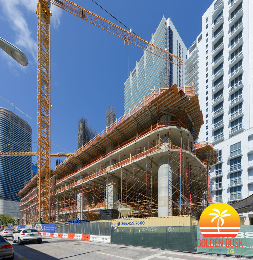 Brickell Flatiron Construction
