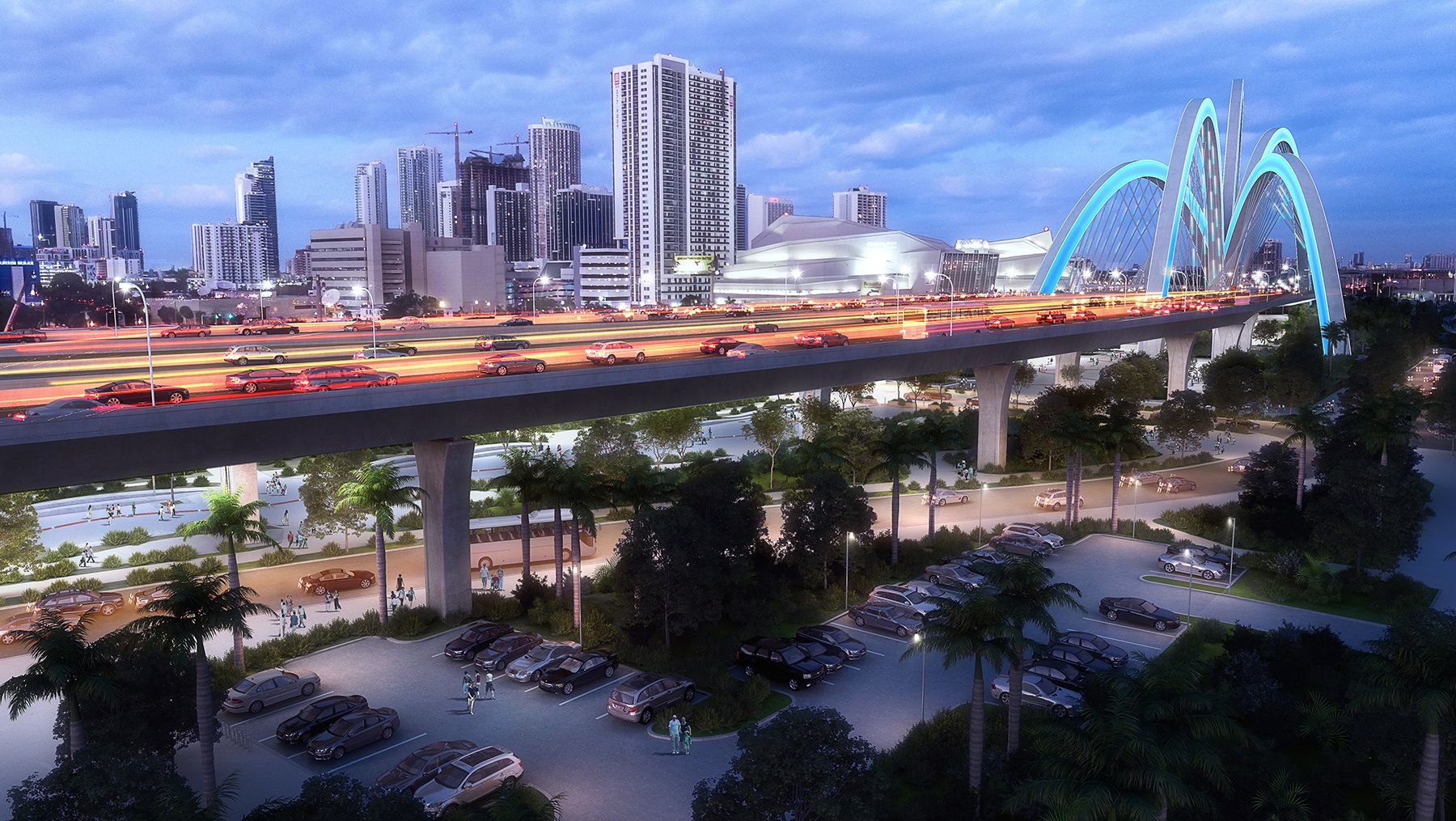 Signature Bridge Rendering