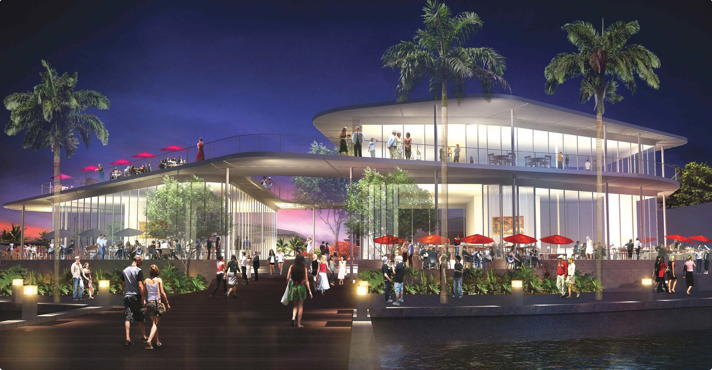 The Harbour Coconut Grove Rendering